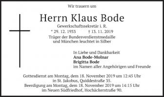 Klaus Bode
